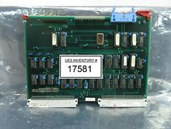 Asml 4022.428.11190 Timing Control Pcb Card Pas 5000/2500 Wafer Stepper Used