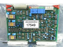 Asml 4022.428.14550 Tb 2500 X Pcb Card Pas 5000/2500 Wafer Stepper System Used
