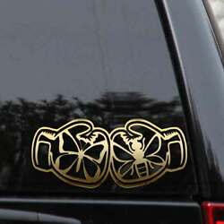 Boxing Gloves Decal Sticker Float Butterfly Sting Like A Bee Like A Car Truck Wi