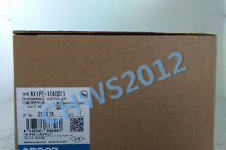 1 Pcs New In Box Omron Nx1p2-1040dt1 Programmable Controller