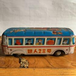 Tetsujin 28 Go Bus Tin Toy Vintage Rare From Japan Free Shipping