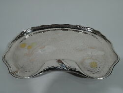 Tiffany Tray - 5291 - Hand Hammered - American Sterling Silver & Mixed Metal