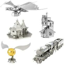 Fascinations Metal Earth Collectible Harry Potter 3d Laser Cut Steel Model Kits