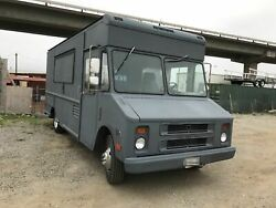 Fully-equipped Gmc Step Van Kitchen Food Truck / Used Mobile Kitchen For Sale In