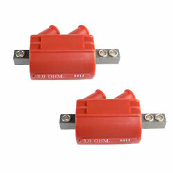 2pc New Electronic Ignition Coil Dc1-1 For Honda Gl1000 Goldwing Gl1000 Cmhd1-1r