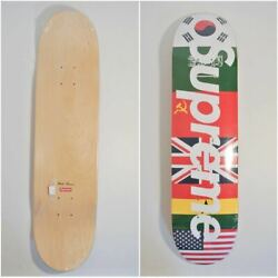 Supreme X World Famous Skateboard Deck New Rare From Japan