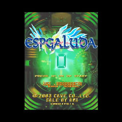 Espgaluda Game Pcb P.c. Board Cave 2003 Japan Used Rare Shooting A.m.i.