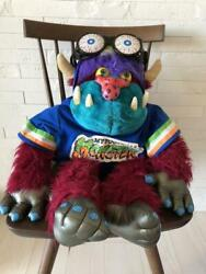 My Football Monster Amtoy Plush Toy Collectible Vintage Rare Stuffed Animal