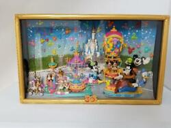 Disney Figure Display Set Happiness Is Here 30th Anniversary Limited Rare Japan