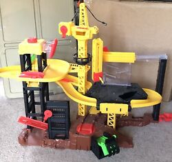 Fast Lane Construction Site Play Set Interactive Vehicle Lights Sounds Toys R Us