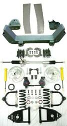 1964-1966 Ford Mustang Ii Front End Ifs W/ Manual Rack + Fender Panels Ss Lines