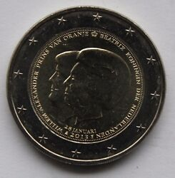 Netherlands - 2 € Commemorative Euro Coin 2013 Beatrix And Willem Alexander