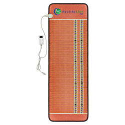 Electric Heating Pad Pemf Far Infrared Pro Therapy Mat - Healthyline 74 X 28