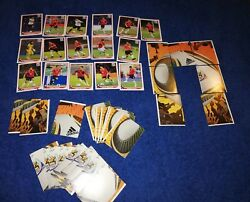Lolot Chile Team Popup South Africa World Cup + Lot Jabulani Stickers
