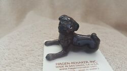 Hagen Renaker Dog Baby Pug Black Figurine Miniature Gift New Free Shipping 33171