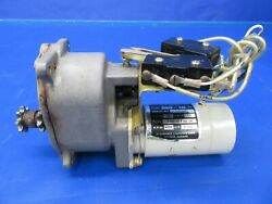 Cessna 310r Flap Motor And Gear Box 9910070-1 5115237-10 And 5115252-6 0319-61