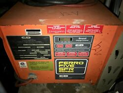 Candd Ferro Five Sfr Series 12 Volts Charger Model Sfr6a510cs Used