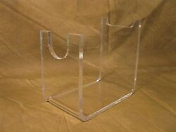 Acrylic Collectible Sci Fi Blade Blaster And Mauser Style Pistol Display Stand