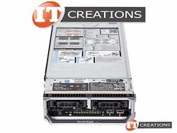 DELL POWEREDGE M630 TWO E5-2660V4 2GHZ 384GB NO HDD H330