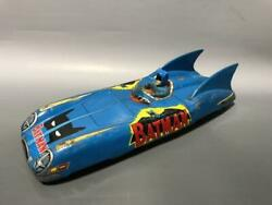 Aoshin Batman Batmobile Tin Toy 1966 Vintage Rare From Japan