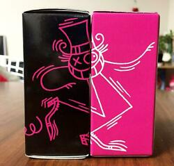 Medicom Toy Andre Set Of 2 Figure Figurine Pink Black Boxed Decor Collectible