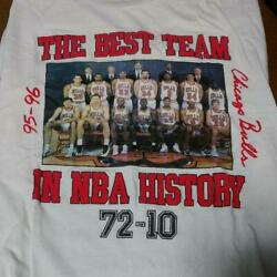 Nba Chicago Bulls 90's Vintage T-shirt Size L Made In Usa Rare From Japan