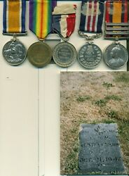 A Wwi M.m. Awarded To Acting Company Sergeant-major J. Stevens 1st Cmr