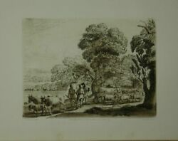 Landscape. From The Original Drawing In The Collection Of The Duke Of Dev 135642
