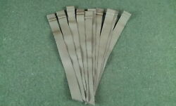 Lot Of 10 New Molle Straps 1 X 11 Coyote Brown