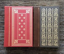 2-lot 1979 Franklin Library Robinson Crusoe Defoe, Great Expectations Dickens