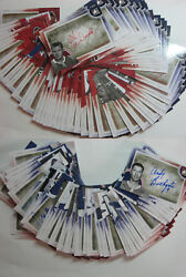 2012-13 ITG Forever Rivals COMPLETE SET x 123 AUTOGRAPH AUTO cards all SP SSPs