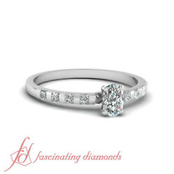.70 Ct Cushion Very Good Cut Vs2-f Color Diamond Engagement Ring Gia Certified