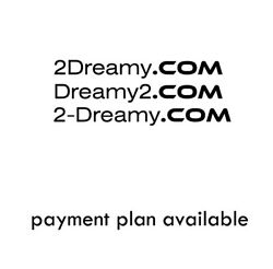 2DREAMY .COM PREMIUM BRAND LOT 16 DOMAIN NAME PROPERTY DESIGNER FASHION BUSINESS