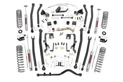 ROU- 78630 Rough Country 07-18 Jeep Wrangler 4 DR 4IN Long Arm Suspension Lift