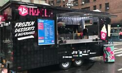 2017 - 8' x 18' Ice Cream Froyo Concession Trailer for Sale in New York!!!