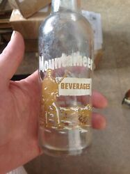 Mountaineer Acl Soda Bottle Parkersburg Wv Picture Label Coca Cola 1962
