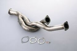 Tomei Ti Racing Titanium Front Pipe For Nissan Skyline Bncr33 Gtr Rb26dett