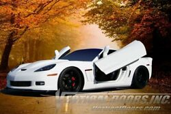 Direct Bolt On Vertical Lambo Doors Hingest Kit With Warranty Zlrc60511