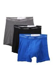 Nwt Calvin Klein. Sz L. Menand039s 3 Pack Boxer Briefs Multi- Solid. Msrp 39.50.
