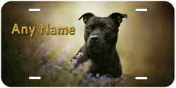 American Staffordshire Terrier Personalized Novelty Car License Plate