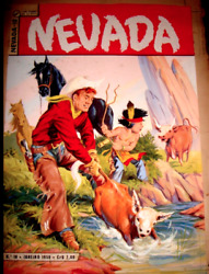 Red Rider Western 1958 Watercolor Published Golden Age Cover Original Art Work