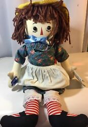 Applause 80th Anniversity Limited Edition Of The Raggedy Anne Doll