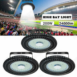 3 x200W UFO LED High Bay Light Warehouse Industrial Factory Lamp Commerce Light