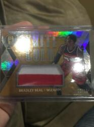 BRADLEY BEAL 2016 17 WHITE GOLD PRIME JUMBO JERSEY PATCH 1 15 FIRST ONE GATORS $24.99