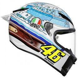 Agv Pista Gp-r Carbon Rossi Winter Test And03917 Helmet White/blue