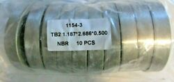 Airlock Seal 1154-3 Tb21.1872.6860.500 1-3/16 Ss 300 Series Package Of 10