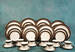 New Royal Doulton Cadenza Full Set For 8 Dinner Cups Plates