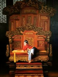The Crown Oil Painting On Canvas Reproduction