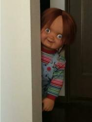 Childand039s Play Chucky Doll Figure Good Guy Medicom Toy Replica Collectible Movie