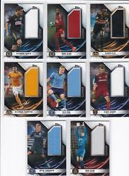 2019 Topps Mls Soccer Jumbo Relic Complete Set 40 Cards Only 99 Sets Made